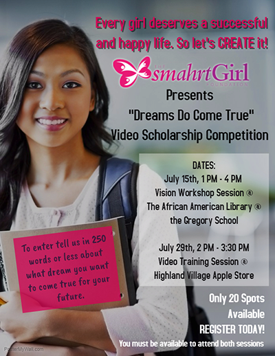African american girl teen workshop